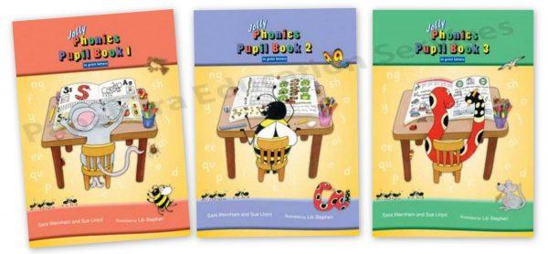 Jolly Phonics Pupil Book & Teacher's Book