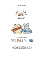 BOOK 7 INTRO TO LONG VOWELS