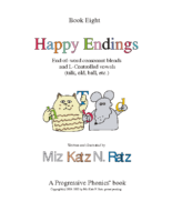 BOOK 8 HAPPY ENDINGS