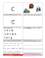 Early Years Activity Sheets Unit 6