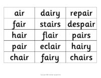 Word list 3