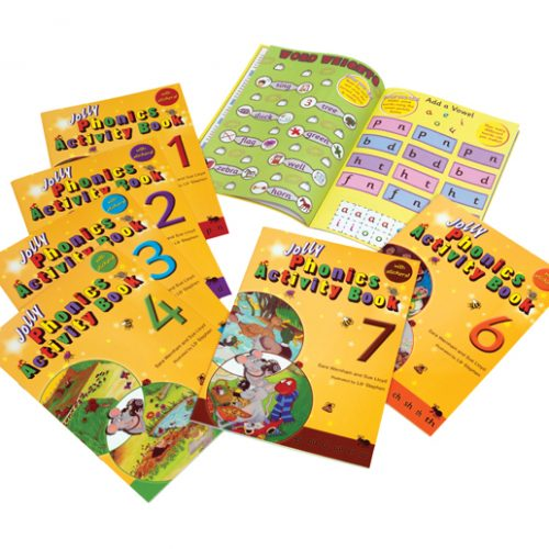 Jolly Phonics Activity Books (With Sticker Sheets)
