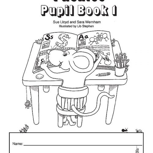 Pupil Books Black and White