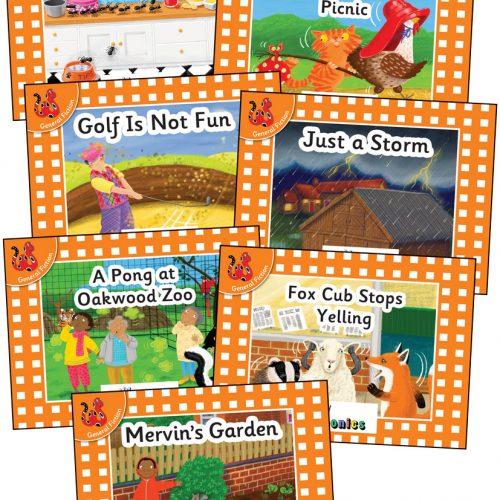 Jolly Phonics Orange Level Readers