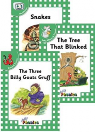 Green Level 3 Readers