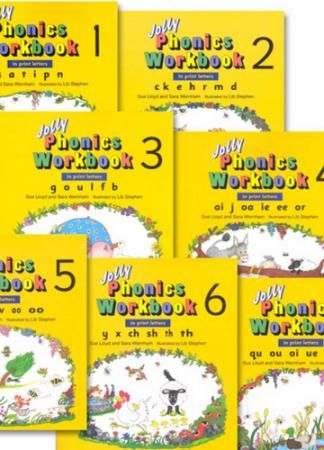 Jolly Phonic Workbooks