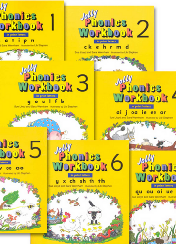 Jolly Phonic Workbooks