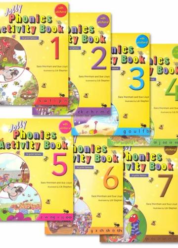 Activity Books (Sticker Sheets)