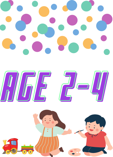 Resources for Early Years ( Age 2-4)