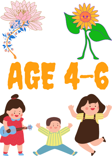 Resources For Older Children (Age 4-6)